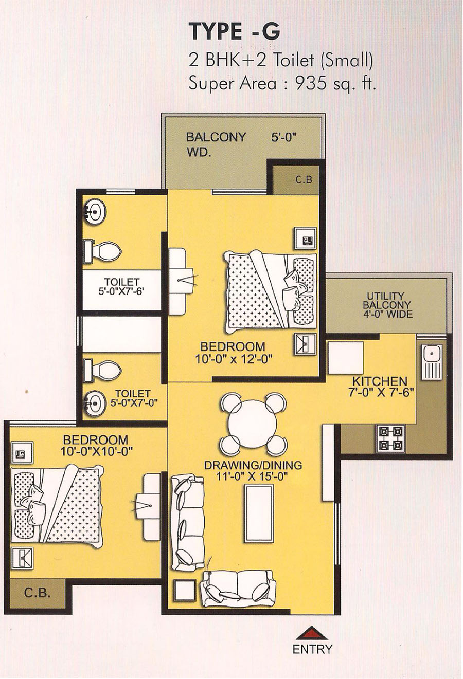 2 BHK Ready to Move in Flats in Ghaziabad
