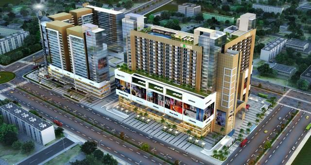 gaur-city-mall-elevation