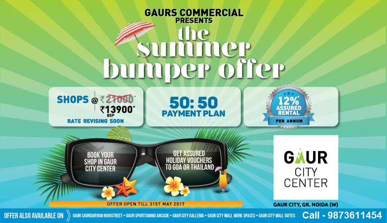 Gaur City Center Noida extension