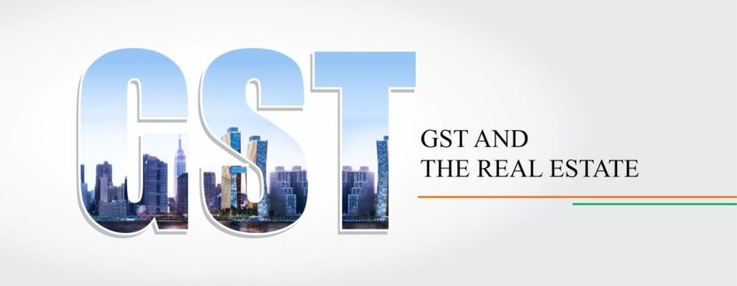 gst rate on real estate
